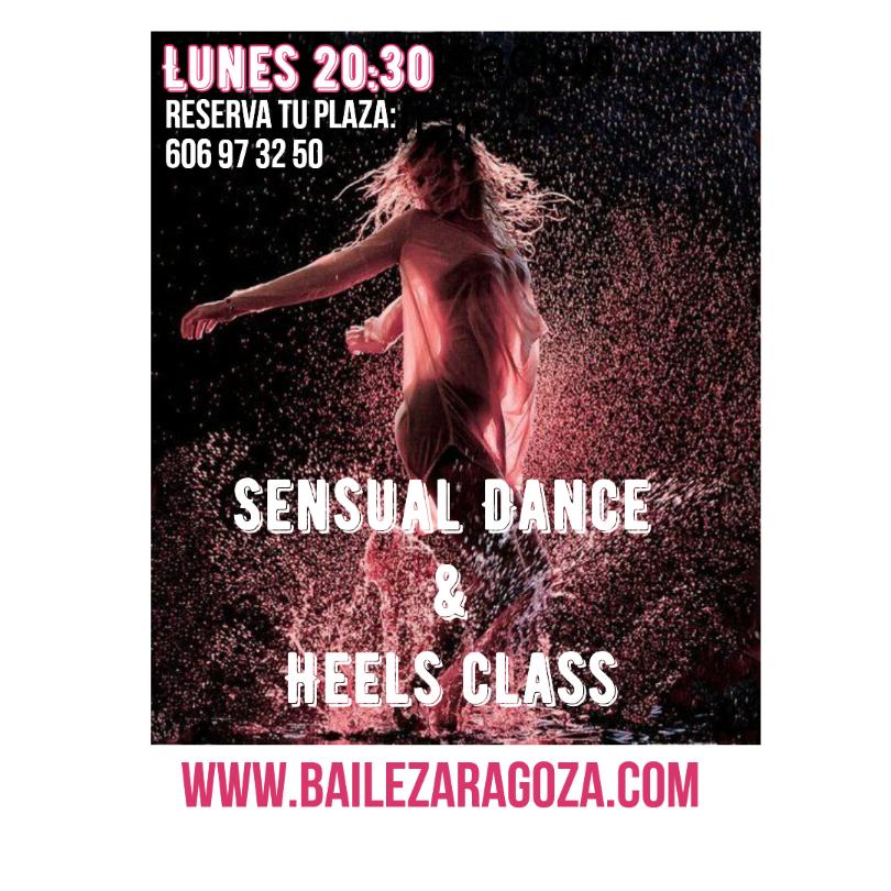 Clases de sensual dance y heels class en Zaragoza