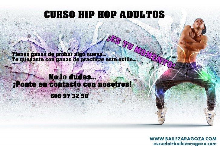 Clases Hip hop Zaragoza para adultos