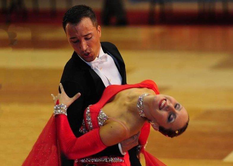 Profesores escuela baile Zaragoza Richi y Mapi