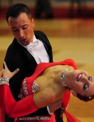 Richi y Mapi, profesores salsa escuela de baile Zaragoza