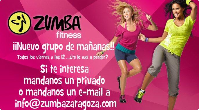 Clases de Zumba en Zaragoza