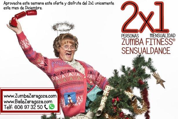 Oferta clases baile zaragoza zumba sensualdance