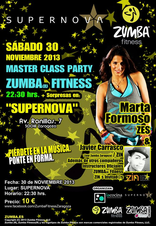 Zumba party Zaragoza